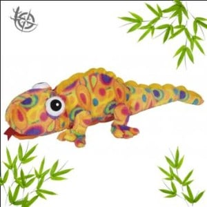 Chameleon soft toy