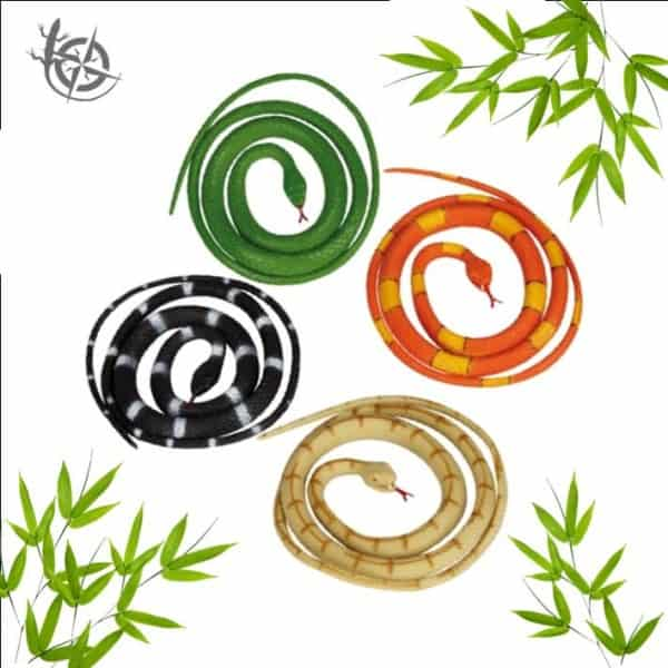 Coiled Snake toy