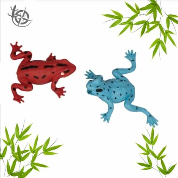 Poison frog stretch
