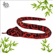 Snake soft toy 150cm red