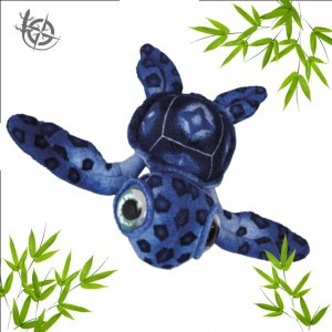 Turtle soft toy 60cm blue