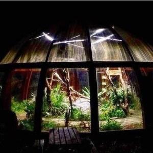 Dome at night