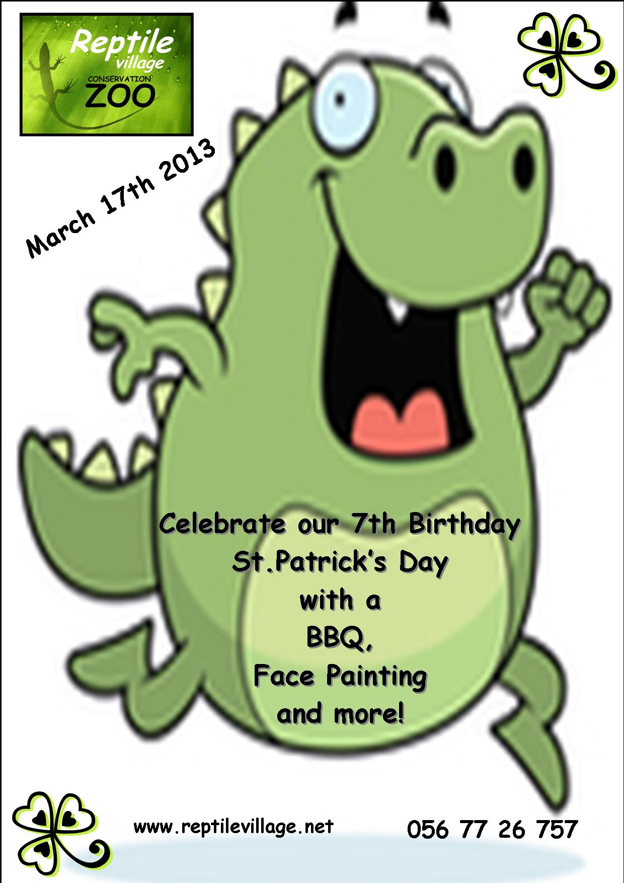 Patrick's Day Poster 1