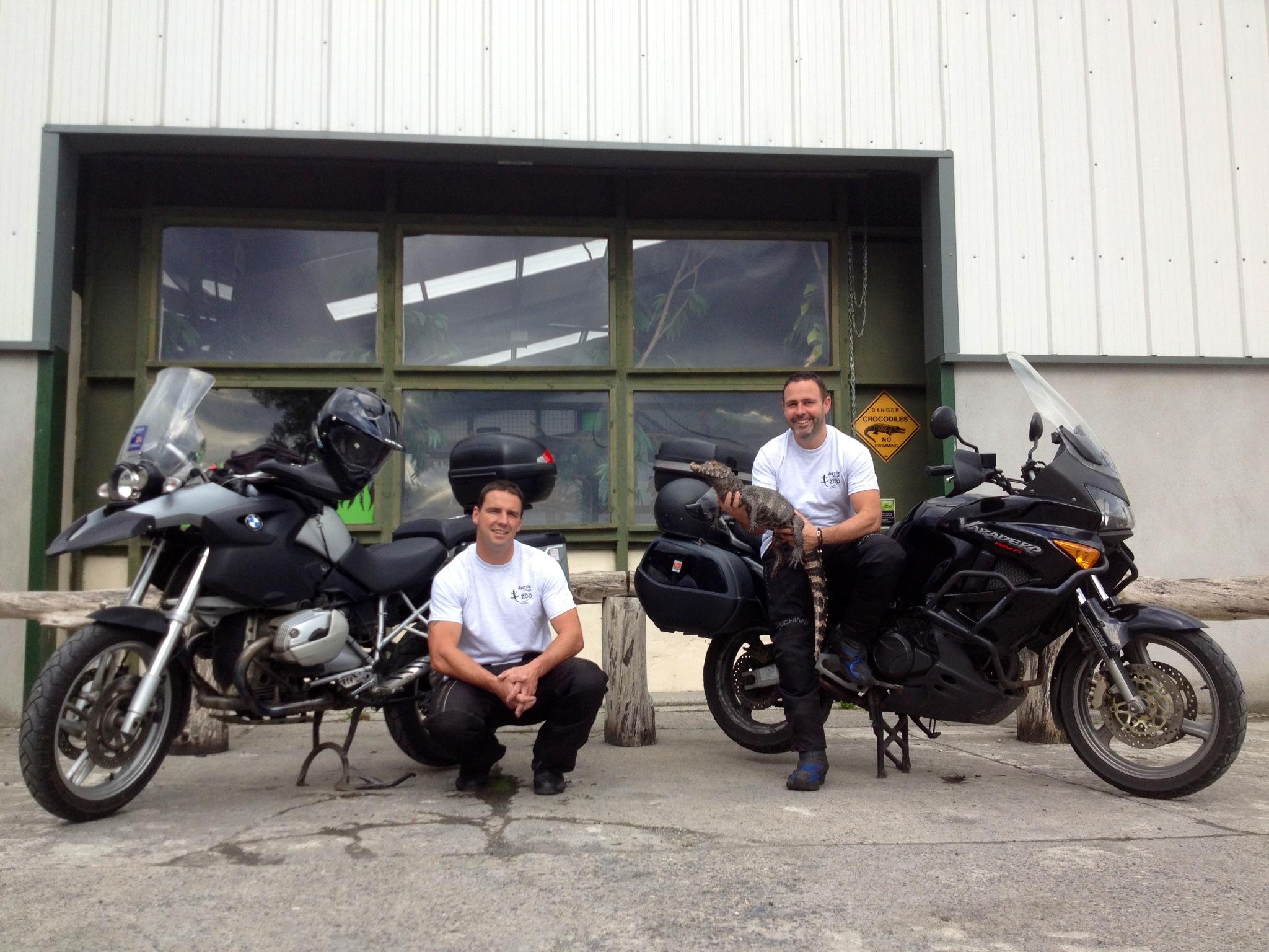 James, Paul, Caiman, Bikes