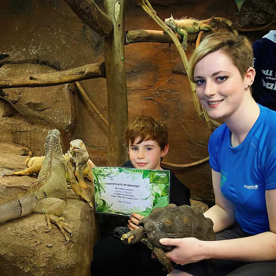 Birthday Parties at the National Reptile Zoo