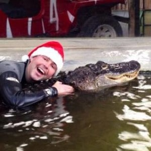 James Santy Hat with Alligator