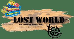 Full Lost World Funtasia Logo